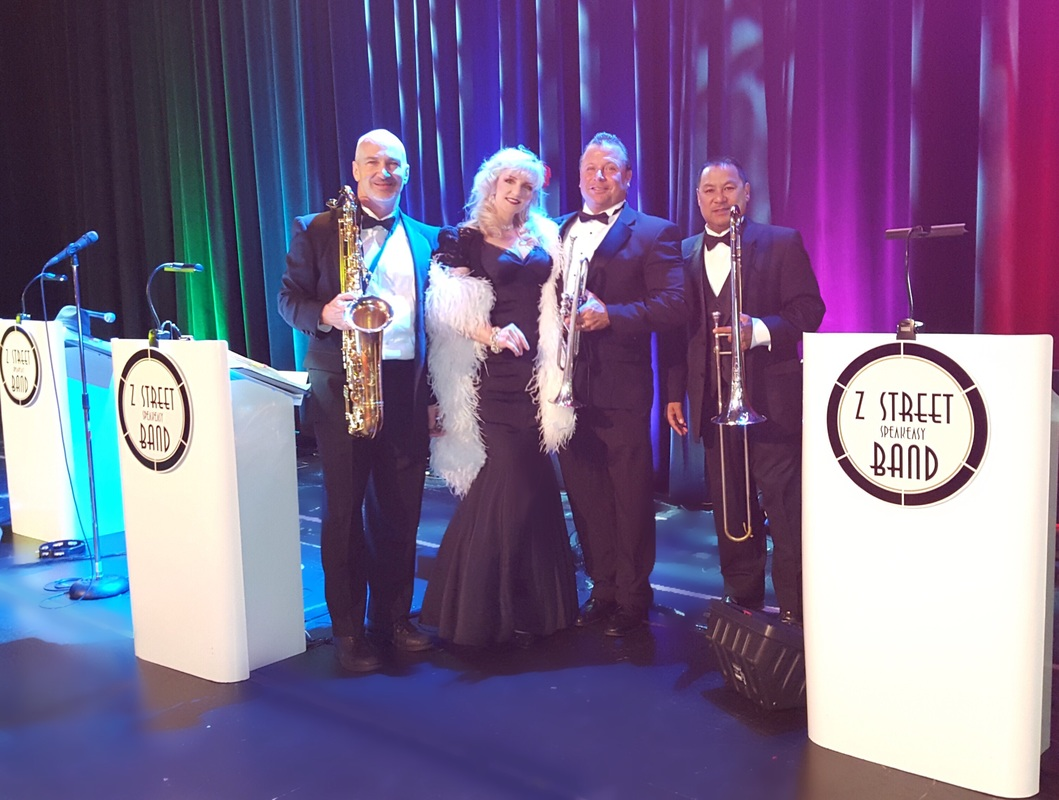 Z Street Speakeasy Band,speakeasy band Orlando,  oscars band Orlando, oscars theme band Orlando old hollywood glamour band Orlando, gatsby band Orlando ,swing band Orlando