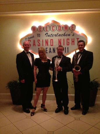 Casino Theme Party, Orlando FL,  Casino theme Party Band Orlando, FL , Casino theme entertainment, Orlando.Z Street Corporate Band, Orlando, Fl